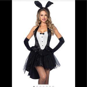 Leg Avenue Tux And Tails Bunny Tuxedo Costume